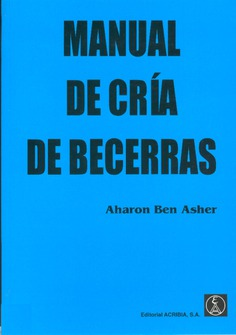 Manual de cría de becerras
