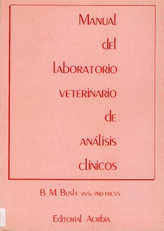 Manual de laboratorio veterinario de análisis clínicos