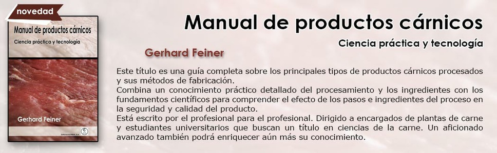 Manual de productos cárnicos